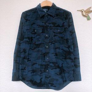 Gap Kids Boys corduroy button down shirts Husky L